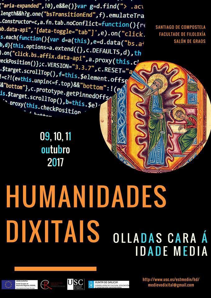 Congreso Humanidades Dixitais Santiago 2017