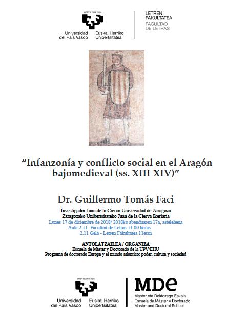 Cartel Infanzonía y conflicto social en Aragón